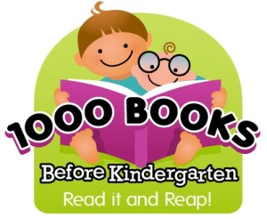 Image of 1000 Books Before Kindergarten logo
